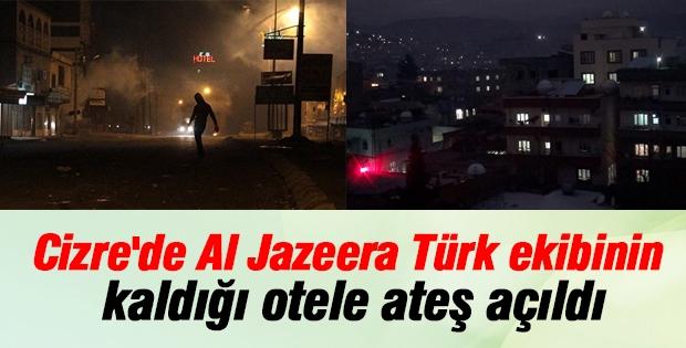 Al Jazeera Türk ekibinin kaldığı otele ateş açıldı