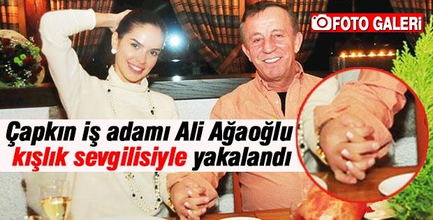 Ali Ağaoğlu kışlık sevgilisiyle görüntülendi!