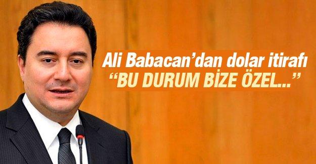 Ali Babacan'dan dolar itirafı!
