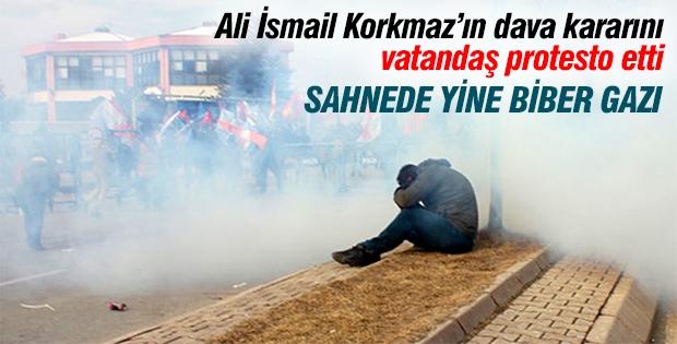 Ali İsmail Korkmaz'ın dava kararına protesto!
