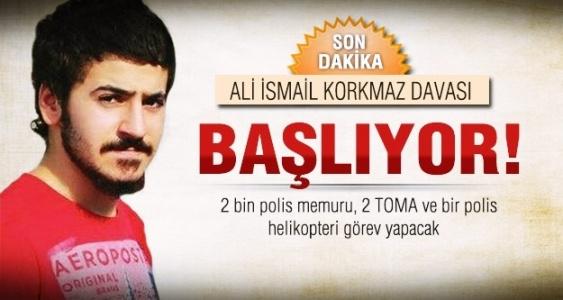 Ali İsmail Korkmaz davası başlıyor