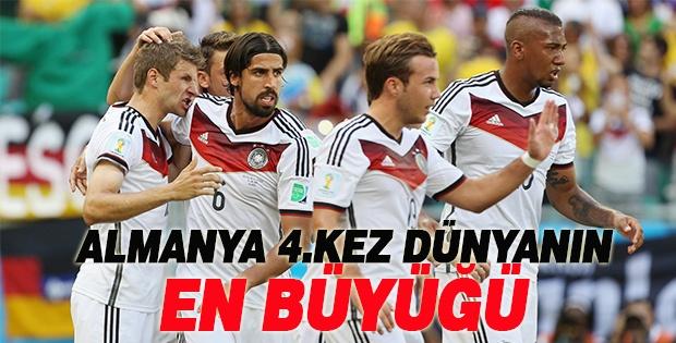 Almanya 4. Kez Kupanın Sahibi