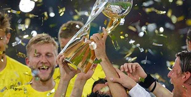 Almanya Süper Kupa Dortmund'un