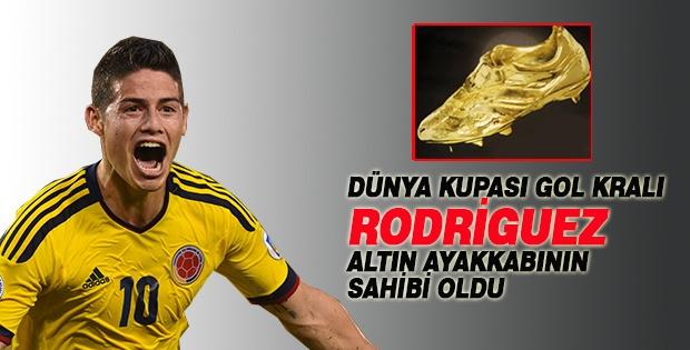 Altın Ayakkabı Rodriguez'in