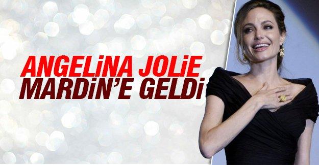 Angelina Jolie Mardin'e geldi