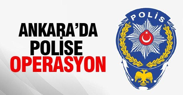 Ankara'da operasyon: 24 emniyet mensubu gözaltında