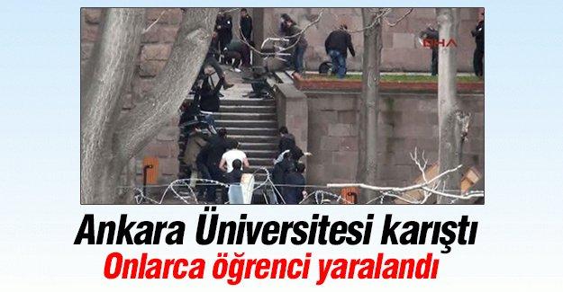 Ankara Üniversitesi'nde ortalık karıştı!