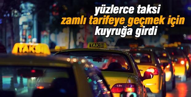 Ankara'da taksi ücretleri zamlandı
