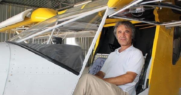 Ankara'da Tek Kişilik Özel Uçak Düştü, Pilot Öldü
