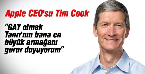 Apple CEO'su Tim Cook: Gay olmak bana Tanrı'nın en büyük armağanı