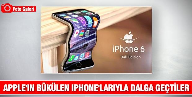 Apple'ın bükülen iPhone'larıyla dalga geçtiler