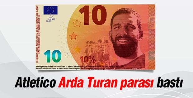 Arda Turan'ın parası basıldı