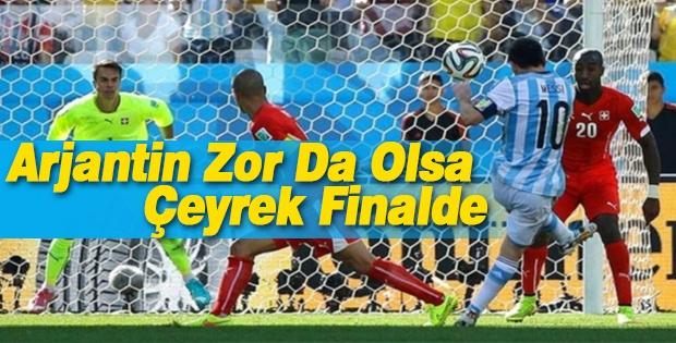 Arjantin Zor Da Olsa Çeyrek Finalde