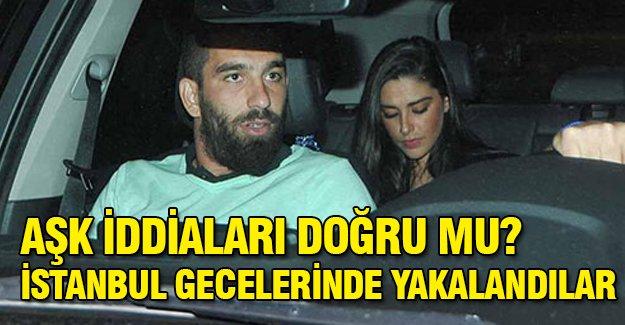 Aşk iddiaları doğru mu? istanbul gecelerinde yakalandılar!