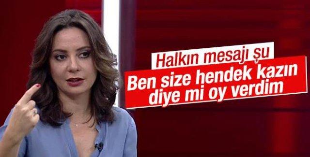 Aslı: Seçmen PKK'yı cezalandırdı