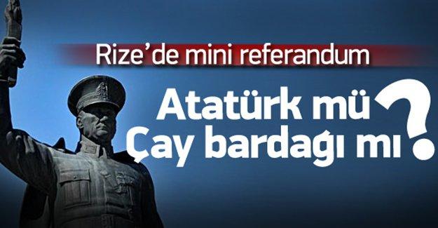 Atatürk heykeli için referandum yapılacak