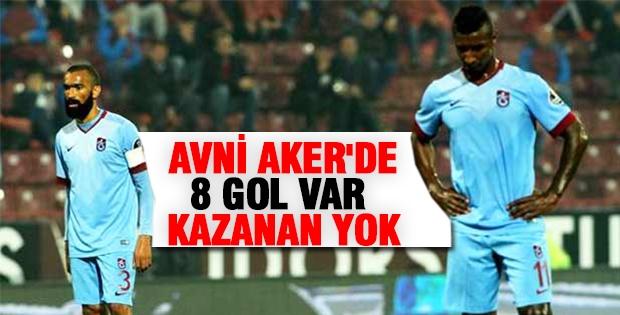 Avni Aker'de 8 gol var kazanan yok