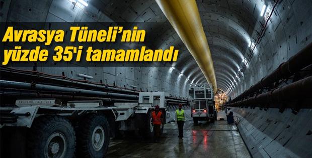Avrasya Tüneli'nde 1180 metreye ulaşıldı