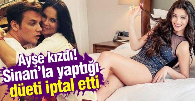Ayshe - Sinan Akçıl düet projesi iptal oldu