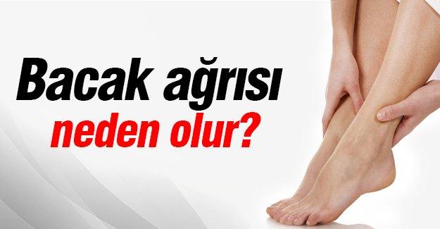 Bacak ağrısı neden olur?