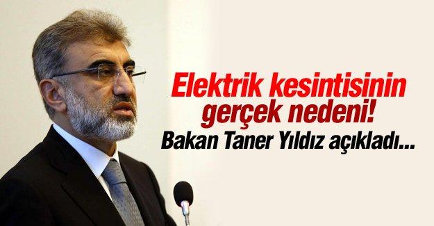 Bakan Taner Yıldız'dan flaş kesinti açıklaması!