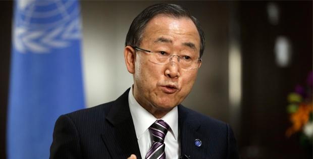 Ban Ki Moon, Bm Güvenlik Konseyi'ni Acil Toplantıya Çağirdi