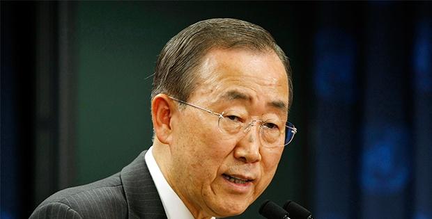 Ban Ki Moon'dan, İsrail Ve Hamas'a Ateşkes Çağrisi