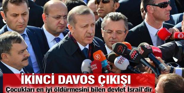 Başbakan Erdoğan'dan İsrail'e sert sözler