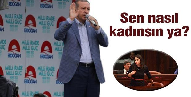 Başbakan Erdoğan'dan İsrailli vekile tepki