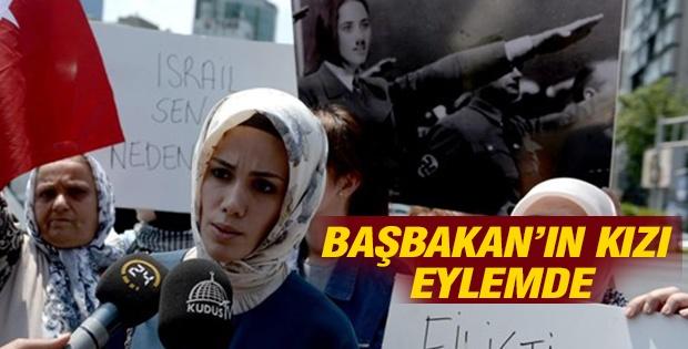 Başbakan Erdoğan'ın kızı Esra Albayrak Gazze eyleminde