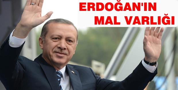 Başbakan Recep Tayyip Erdoğan'ın mal varlığı