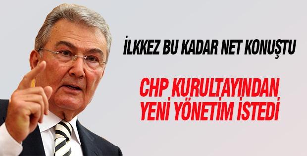 Baykal CHP kurultayında yeni yönetim istedi