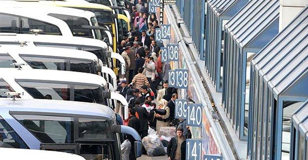 Bayramda otobüs biletleri tükendi mi?