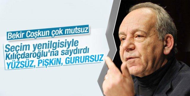 Bekir Coşkun'dan Kılıçdaroğlu'na sert sözler