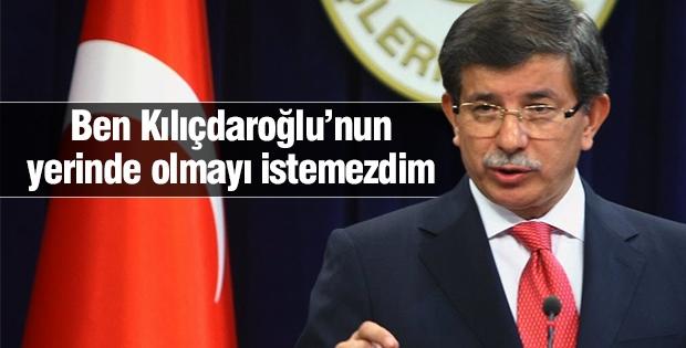'Ben Kılıçdaroğlu'nun yerinde olmayı istemezdim'