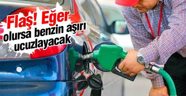 Benzin aşırı ucuzlayacak!