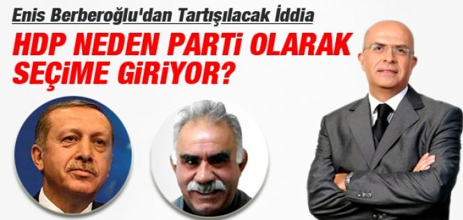 Berberoğlu: Öcalan'ın Talimatı