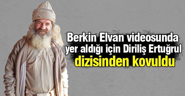 Berkin Elvan videosunda yer aldığı için diziden kovuldu