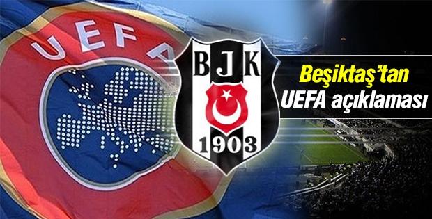Beşiktaş Kulübü'nden 'UEFA' açıklaması!
