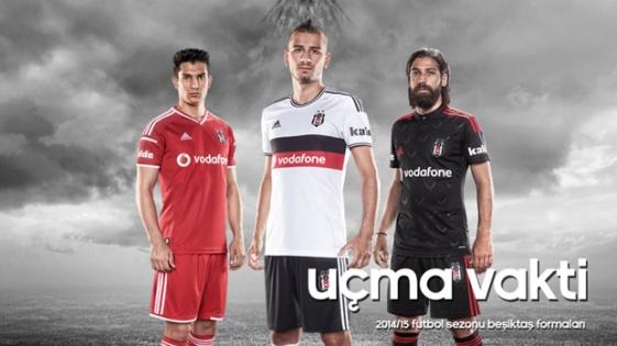 Beşiktaş'ın Yeni Sezon Formaları Satışa Çıktı