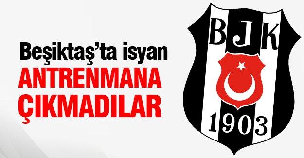 Beşiktaş'ta isyan!