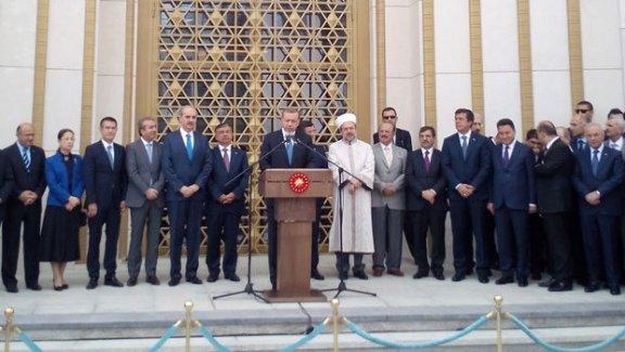 Beştepe Millet Camii dualarla açıldı