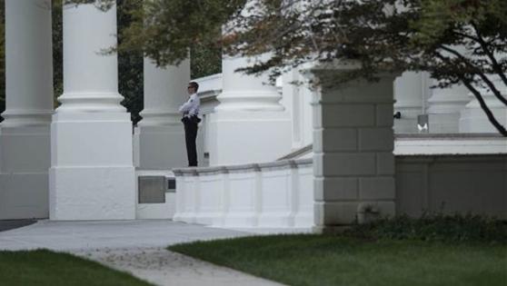 Beyaz Saray'a bıçakla girmiş