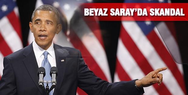 Beyaz Saray'da Skandal