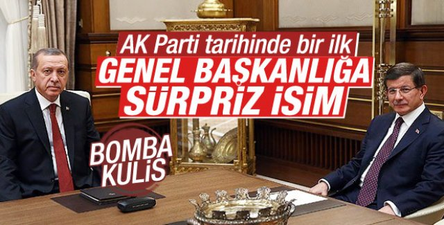 AK Parti liderliğine sürpriz aday