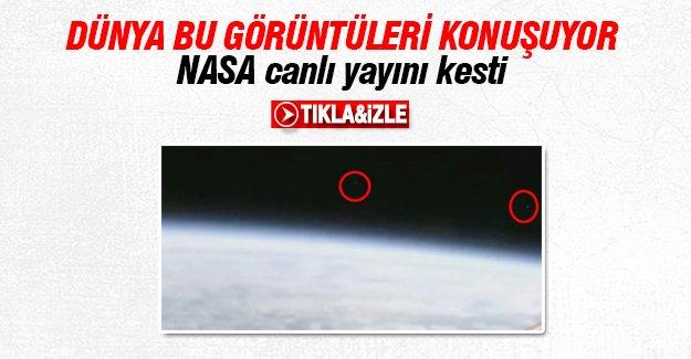 Bomba İddia! NASA canlı yayını kesti