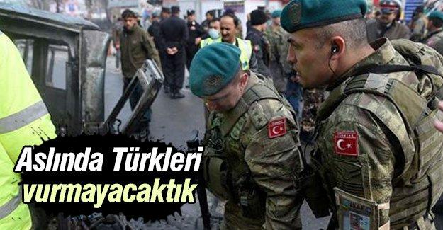 Bomba itiraf: Aslında Türkleri vurmayacaktık