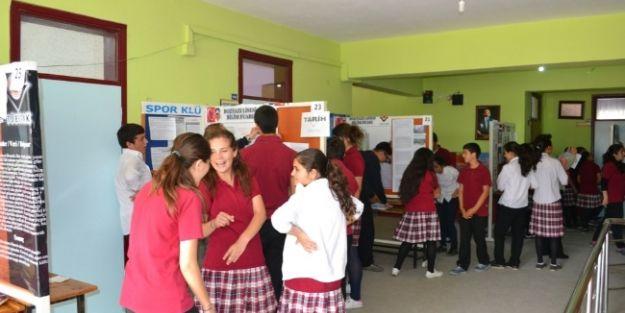 Bozyazı Lisesi'nde Bilim Fuarı Açıldı