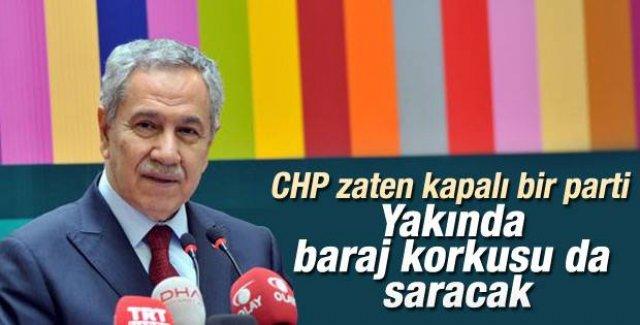 Bülent Arınç'tan CHP'nin kapatılması iddialarına ilginç yorum