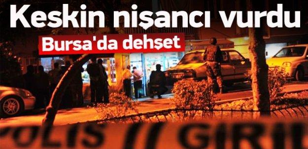 Bursa'da dehşet!